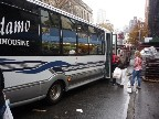 The wonderful Adamo limousine bus