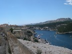 Looking out over the massive city wall, you can see why Bonifacio was virtually impregnable.