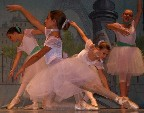 "In the spirit of ""Ballet Rehearsal/Class"" -- Edgar Degas"