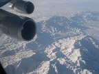 The flight from Delhi to Frankfurt was awesome (as I love mountains & snow). There is a lot of snow down there!