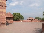 The abandoned capital city of Fatehpur Sikri, must have been quite the scene in its heyday (1570-1586)